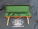 VERY HIGH QUALITY LEATHER SHOTGUN CASE SXS - 1 of 2