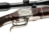 HARTMANN & WEISS TAKEDOWN SINGLE SHOT RIFLE 300 H&H WITH EXTRA 22-250 BARREL - 15 of 19