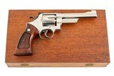 SMITH & WESSON 27-2 357 MAG NICKLE