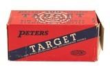 BRICK OF PETERS TARGET 22 LR