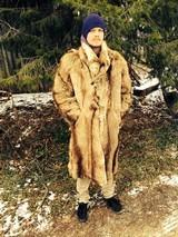 Cowboy -Hunter-Trapper- Frontiersman Fur coat