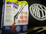 """Rossi 12 ga./ .17HMR Rifle-Shotgun Combo """"Whitetails Unlimited Matched Pair"""" - 18 of 20"""