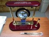 Winchester WW-2 desk clock from about 2003-2005,New never displayed.