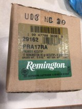 .17 Remington fresh Ammo