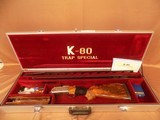 Krieghoff K-80 Plantation Scroll - Trap Special unsingle combo - 12ga/32