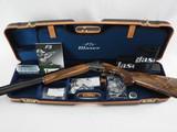 """Blaser F3 Vantage Bonsi - 12ga/32"""" - RH - new gun"""