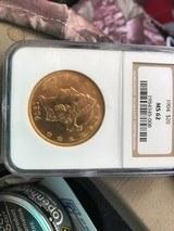 1904 Liberty $20 gold MS62