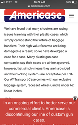 Air travel cases locking. - 6 of 6