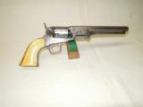 CIVIL WAR COLT MODEL 1851 NAVY REVOLVER - MARTiAL - USN MARKED- 1 of 12
