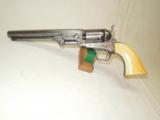 CIVIL WAR COLT MODEL 1851 NAVY REVOLVER - MARTiAL - USN MARKED- 5 of 12