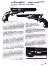 ONE OF A KIND COLT 1851 NAVY REVOLVER - 15 of 15
