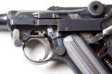 1920 DWM POLICE GERMAN LUGER RIG W/ 2 MATCHING # MAGAZINES - 4 of 10