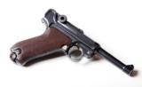 1920 DWM POLICE GERMAN LUGER RIG W/ 2 MATCHING # MAGAZINES - 3 of 10