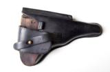 1920 DWM POLICE GERMAN LUGER RIG W/ 2 MATCHING # MAGAZINES - 8 of 10