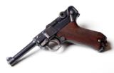 1920 DWM POLICE GERMAN LUGER RIG W/ 2 MATCHING # MAGAZINES - 6 of 10