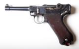 1915 DWM MILITARY GERMAN LUGER RIG - 2 of 11