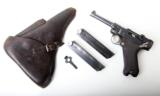G DATE (1935) NAZI GERMAN LUGER RIG - 1 of 12