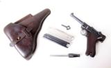 1929 POLICE (SNEAK LUGER) RIG W/ 4MM CONVERSION UNIT - 1 of 12