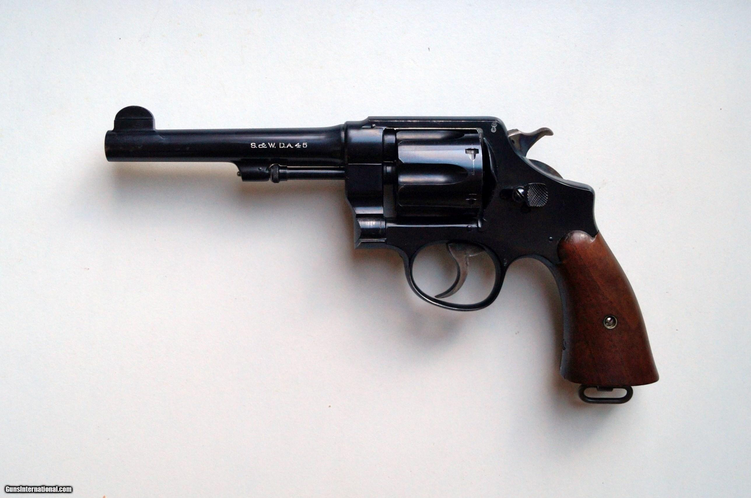 Military Guns For Sale >> SMITH & WESSON MODEL 1917 U.S. ARMY REVOLVER / .45 CAL WITH ORIGINAL HOLSTER