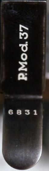 FEMARU NAZI MARKED MODEL 1937 (37M) WITH MATCHING NUMBERED MAGAZINE - 8 of 8