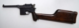 MAUSER BROOMHANDLE PRE WAR COMMERCIAL WITH MATCHING STOCK - 7 of 9
