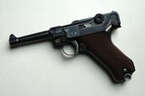 SIMSON / SUHL GERMAN LUGER RIG W/ 2 MATCHING NUMBERED MAGAZINES - 4 of 10