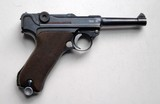 SIMSON / SUHL GERMAN LUGER RIG W/ 2 MATCHING NUMBERED MAGAZINES - 5 of 10