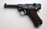 SIMSON / SUHL GERMAN LUGER RIG W/ 2 MATCHING NUMBERED MAGAZINES - 3 of 10
