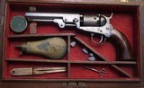 COLT 1849 POCKET REVOLVER - CASED WITH ACCESSORIES - 9 of 10
