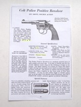 COLT POLICE POSITIVE IST ISSUE - MINT CONDITION - 9 of 9
