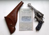 WEBLEY FOSBERRY MODEL 1903 LARGE FRAME SEMI AUTOMATIC REVOLVER