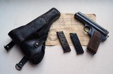 FROMMER STOP POCKET AUTO PISTOL RIG WITH CAPTURE PAPERS
