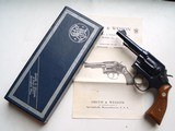 SMITH & WESSON MODEL 10-5REVOLVER - LIKE NEW WITH BOX & MANUALS - 1 of 8