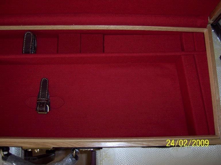 Oak and Leather, Double Rifle, Canvas Case, Whitehunterltd - 7 of 12