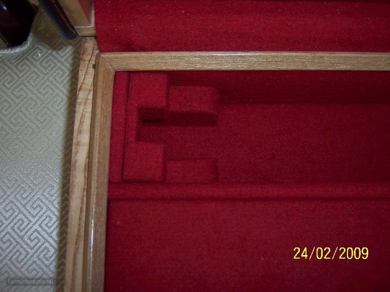 Oak and Leather, Double Rifle, Canvas Case, Whitehunterltd - 8 of 12