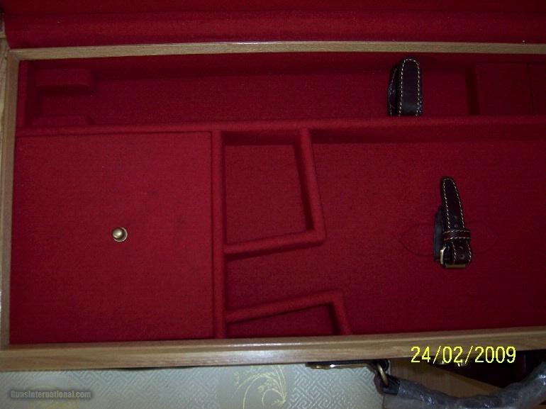 Oak and Leather, Double Rifle, Canvas Case, Whitehunterltd - 6 of 12