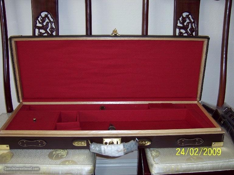 Oak and Leather, Double Rifle, Canvas Case, Whitehunterltd - 12 of 12