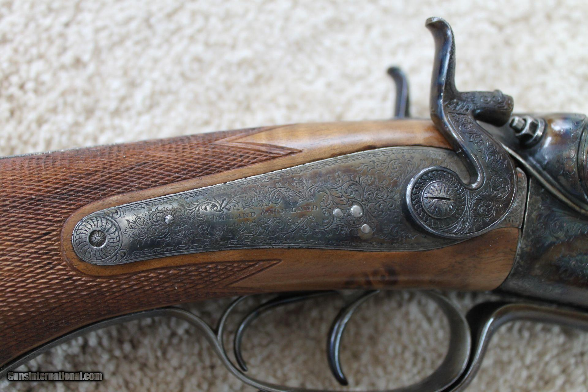 Holland And Holland >> Holland And Holland 577 3 Blackpowder Express Double Rifle