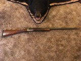 "Parker Brothers Trap gun 1919 SC grade 12 ga 32"" high rib straight grip excond."
