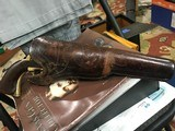 Colt 3rd Model Dragoon with Wyoming Freund & Bro Holster - 1 of 15