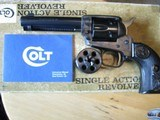 COLT PEACEMAKER22 & 22 MAG inbox4.4 in barrel collector quality@1975