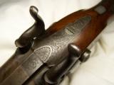 Early THOMAS BOSS Double Barrel 16 GA. Shotgun - 9 of 12