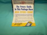 Collectible PETERS High Velocity 16 Ga. ammo CRIMP - 8 of 8