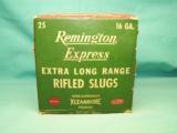 collectible REMINGTON Express 16ga. XL Rifled Slugs - 5 of 9