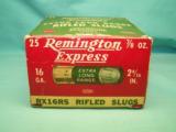 collectible REMINGTON Express 16ga. XL Rifled Slugs - 7 of 9