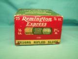 collectible REMINGTON Express 16ga. XL Rifled Slugs - 6 of 9
