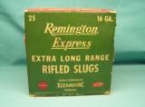 collectible REMINGTON Express 16ga. XL Rifled Slugs