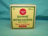 Remington Kleanbore Nitro Express 20 Ga. shotgun ammo
