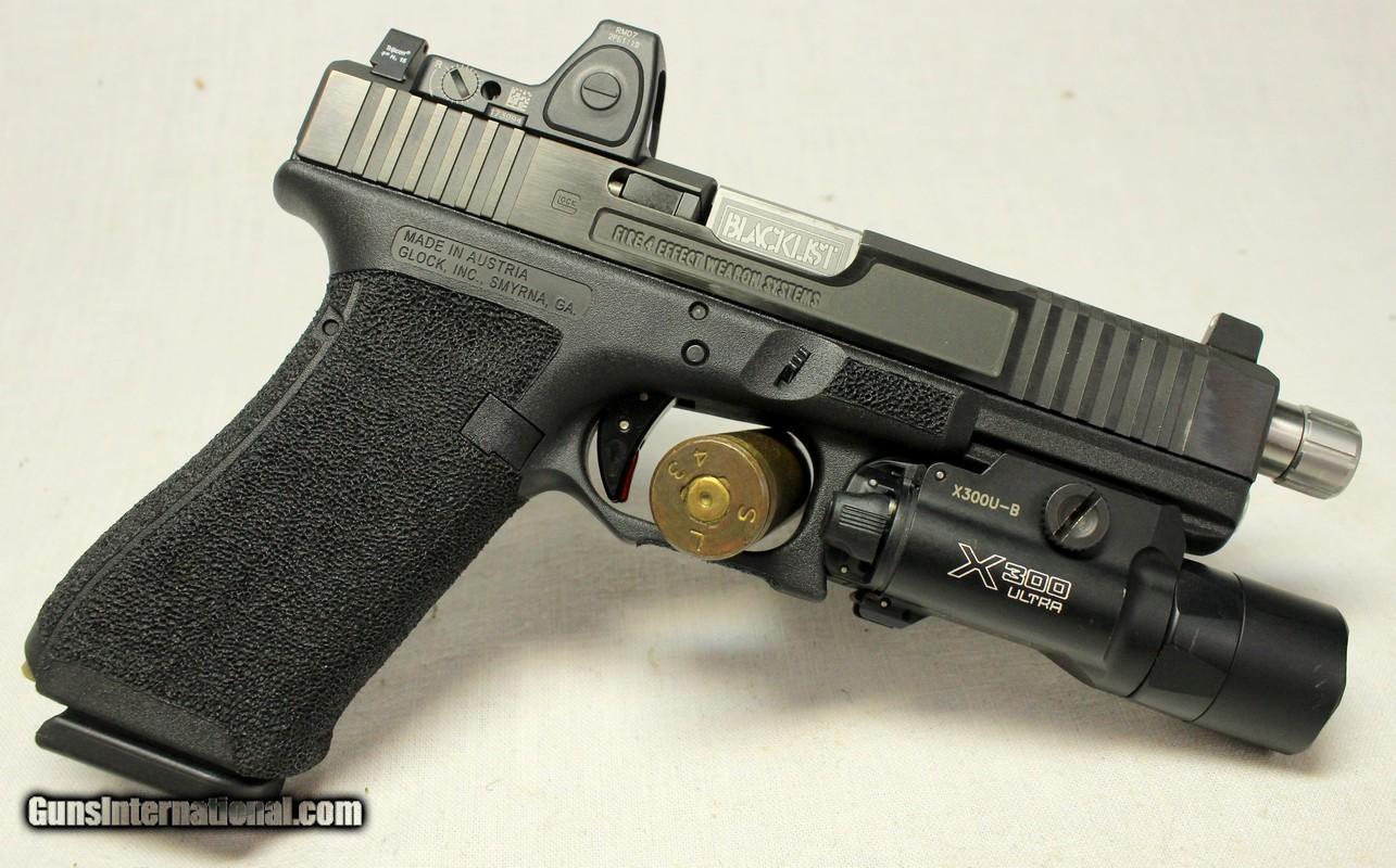CUSTOM Glock 17 Gen 4 pistol ~ 9mm ~ FIRE4EFFECT