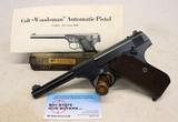 Pre-War COLT WOODSMAN Sport ~ .22LR Pistol ~ BOX & MANUAL